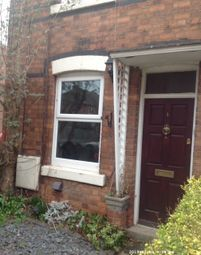 Thumbnail 1 bed end terrace house to rent in Edwinstowe Avenue, West Bridgford, Nottingham
