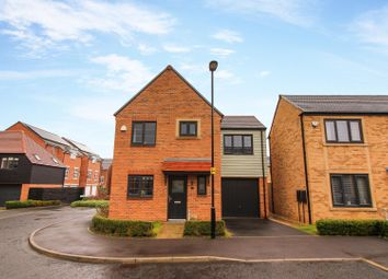 Thumbnail 3 bed detached house for sale in Viscount Close, Shiremoor, Newcastle Upon Tyne