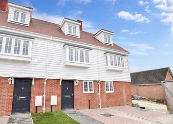 Thumbnail 3 bed terraced house for sale in Smiths Close, Brenzett, Romney Marsh, Kent