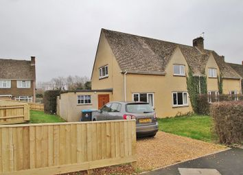Thumbnail 2 bed semi-detached house for sale in Heyford Close, Standlake, Witney