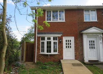 Thumbnail 2 bedroom end terrace house for sale in Bideford Gardens, Luton
