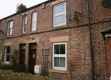 Thumbnail 2 bed terraced house to rent in Vine Terrace, Hexham