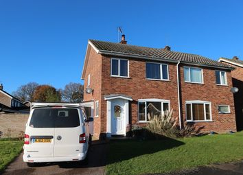 Thumbnail 3 bedroom semi-detached house for sale in Park Walk, Holton, Halesworth