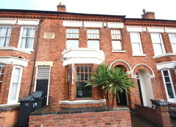 Thumbnail 3 bed terraced house to rent in Stretton Road, West End, Leicester
