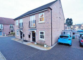 Thumbnail 1 bedroom semi-detached house for sale in Marron Court, Fernwood, Newark