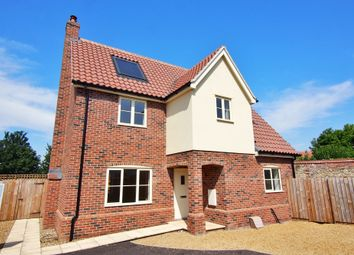 Thumbnail 3 bedroom detached house for sale in Town Green, Wymondham, Norfolk