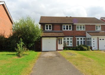 Thumbnail 3 bed property to rent in Tyler Gardens, Addlestone