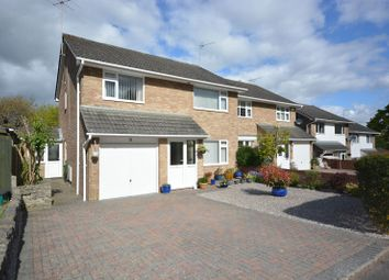Thumbnail 4 bedroom semi-detached house for sale in Rushcombe Way, Corfe Mullen