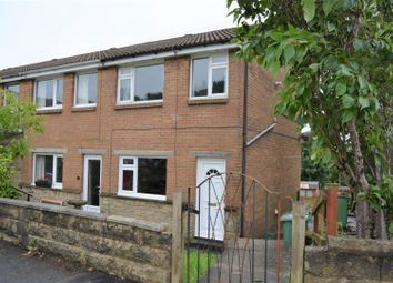 Thumbnail 2 bed end terrace house to rent in Woodroyd, Golcar, Huddersfield