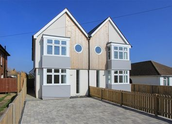 Thumbnail 3 bed semi-detached house for sale in Bridgefield Road, Tankerton, Whitstable