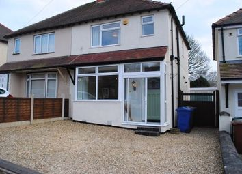Thumbnail 3 bedroom semi-detached house to rent in Westbourne Avenue, Cannock