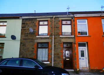 3 bed terraced house for sale in Lewis Street, Pentre, Rhondda Cynon Taff. CF41
