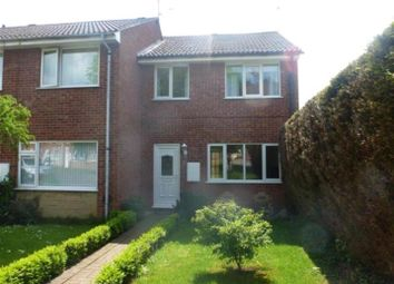 Thumbnail 3 bed end terrace house for sale in Glendon Close, Lincoln