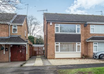 Thumbnail 3 bed semi-detached house for sale in Lincoln Close, Warwick