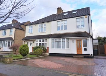 Thumbnail 5 bed semi-detached house for sale in The Brackens, Enfield