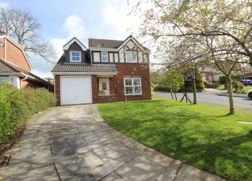 Thumbnail 4 bed detached house for sale in Foxglove Drive, Whittle-Le-Woods, Chorley