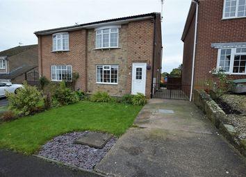 Thumbnail Semi-detached house for sale in Cedar Croft, Kilburn, Belper, Derbyshire