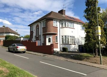 Thumbnail 3 bed semi-detached house for sale in Hampden Way, Southgate, London