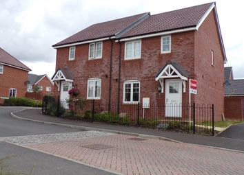 Thumbnail 3 bed semi-detached house for sale in Olympic Park Road, Augusta Park, Andover