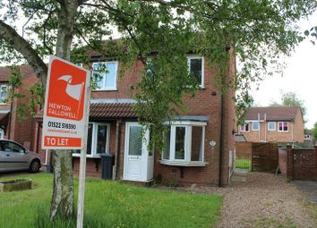 Thumbnail 2 bedroom semi-detached house to rent in Fulmar Road, Lincoln
