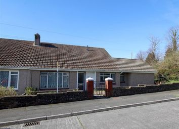 Thumbnail 3 bed semi-detached bungalow for sale in Cardigan Road, Plymouth