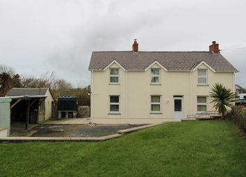 Thumbnail 3 bed detached house for sale in Bryngwyn, Newcastle Emlyn