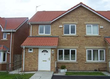Thumbnail 2 bed semi-detached house to rent in Woodhorn Farm, Newbiggin-By-The-Sea