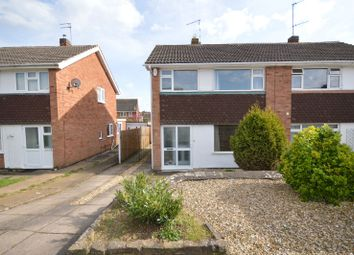 Thumbnail 3 bedroom semi-detached house for sale in Seaton Road, Wigston, Leicester