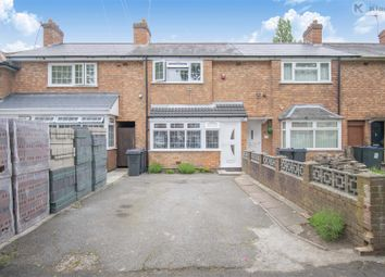 Thumbnail 3 bed terraced house for sale in Leominster Road, Sparkhill, Birmingham