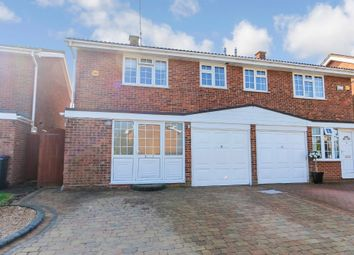 Thumbnail 3 bed semi-detached house for sale in The Ramparts, Rayleigh, Essex