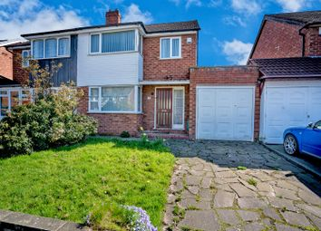 Thumbnail 3 bed semi-detached house for sale in Arundel Road, New Invention, Willenhall