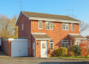 Thumbnail 2 bed semi-detached house for sale in Mitcheldean Close, Oakenshaw, Redditch, Worcs