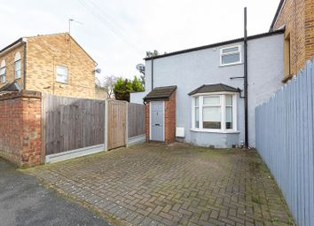 Thumbnail 1 bed end terrace house for sale in Hatherley Road, London