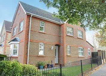 Thumbnail 3 bed detached house for sale in Hathaway Gardens, Basingstoke