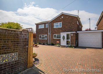 Thumbnail 4 bed detached house for sale in Halt Road, Caister-On-Sea, Great Yarmouth