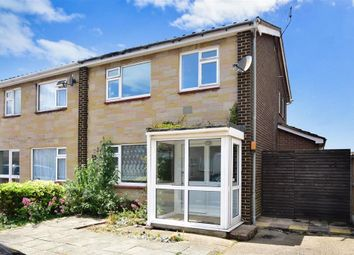 Thumbnail 3 bed semi-detached house for sale in Blenheim Close, Herne Bay, Kent