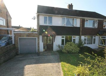 Thumbnail 3 bed semi-detached house for sale in Kingsclere, Newbury, Hampshire