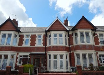 Thumbnail 3 bed terraced house to rent in Kensington Avenue, Cardiff