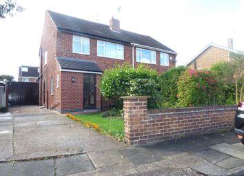 Thumbnail 3 bed semi-detached house to rent in Haddon Crescent, Chilwell, Nottingham