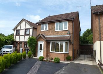 Thumbnail 3 bed detached house for sale in Merlin Way, Coppenhall, Crewe