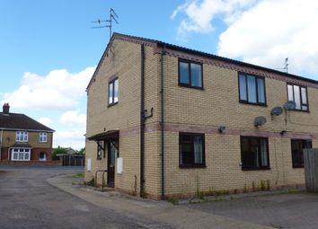 Thumbnail 1 bedroom flat for sale in Hereward Court, Railway Lane, Chatteris