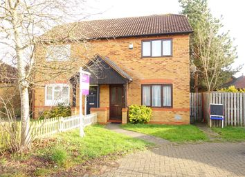 Thumbnail 3 bedroom semi-detached house to rent in Calverleigh Crescent, Furzton, Milton Keynes