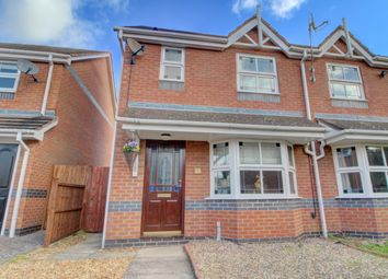 Thumbnail 3 bed semi-detached house for sale in Tennyson Way, Stamford
