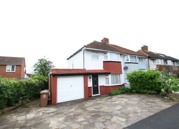 Thumbnail 3 bed property to rent in Dorchester Road, Worcester Park
