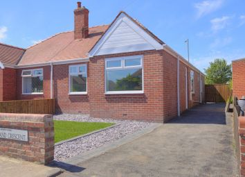 Thumbnail 2 bed semi-detached bungalow for sale in Moorland Crescent, Bedlington