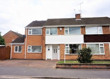 Thumbnail 4 bed semi-detached house for sale in Mount Nod Way, Coventry