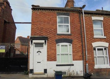 Thumbnail End terrace house for sale in Spencer Road, Northampton