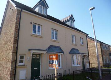 Thumbnail 3 bed property to rent in Gelli Rhedyn, Fforestfach, Swansea