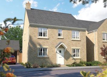 """Thumbnail 4 bed detached house for sale in """"The Buxton"""" at Downs Road, Curbridge, Witney, Oxfordshire, Witney"""