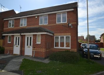 Thumbnail 2 bed semi-detached house to rent in Marion Close, Leicester